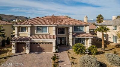 Las Vegas Single Family Home For Sale: 11195 Campsie Fells Court