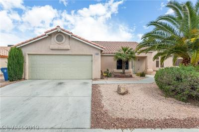 Las Vegas Single Family Home Under Contract - No Show: 7224 Robins Roost Street