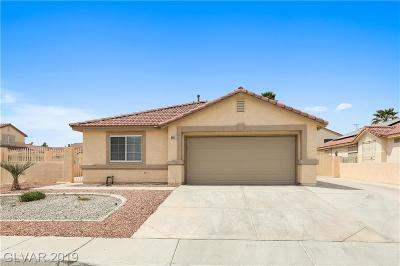 North Las Vegas Single Family Home For Sale: 6013 Ripple Cloud Court