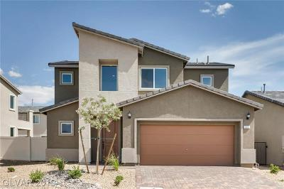 North Las Vegas Single Family Home Under Contract - No Show: 313 Coldwell Station Road