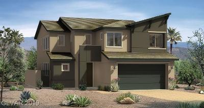 North Las Vegas Single Family Home For Sale: 321 Coldwell Station Road