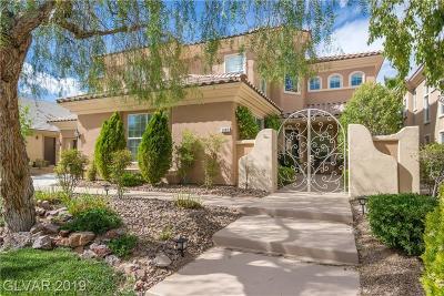 Las Vegas Single Family Home For Sale: 5682 Heather Breeze Court