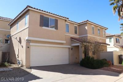 Single Family Home For Sale: 8129 Finch Feather Street