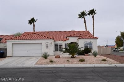 North Las Vegas Single Family Home Under Contract - No Show: 637 Grand Revere Place