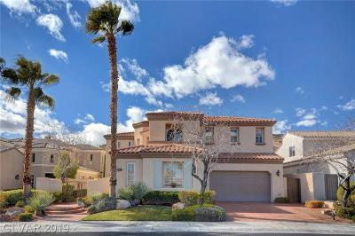 Las Vegas Single Family Home For Sale: 2927 Turtle Head Peak Drive