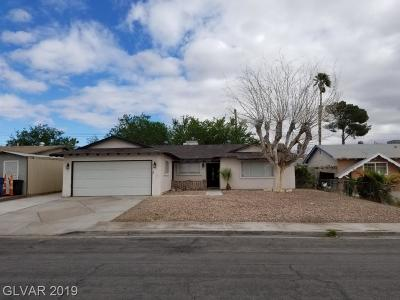 North Las Vegas Single Family Home For Sale: 4300 San Angelo Avenue