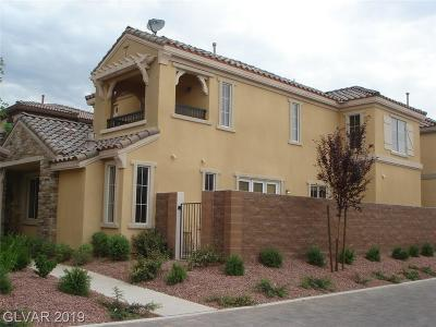 Summerlin Village Single Family Home For Sale: 2258 Aragon Canyon Street