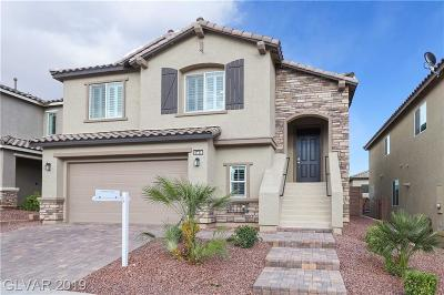Las Vegas Single Family Home Under Contract - No Show: 6732 Bristle Falls Street
