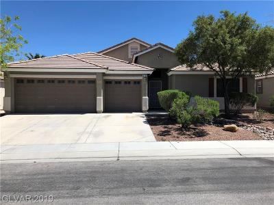 North Las Vegas Single Family Home For Sale: 6158 Shower Orchid Court