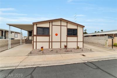 Las Vegas Single Family Home For Sale: 3039 La Barca Lane