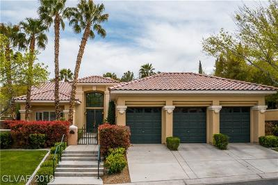 Las Vegas Single Family Home For Sale: 9033 Waterfield Court
