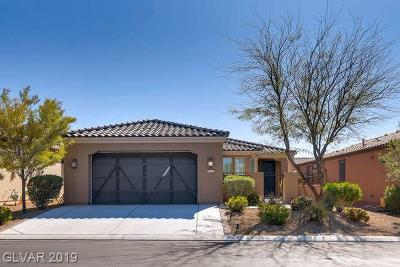 North Las Vegas Single Family Home For Sale: 5652 Pinnacle Falls Street