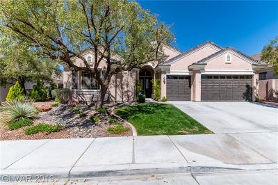 Henderson Single Family Home For Sale: 2138 Kantele Circle