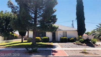 Boulder City Single Family Home For Sale: 717 Fifth Street