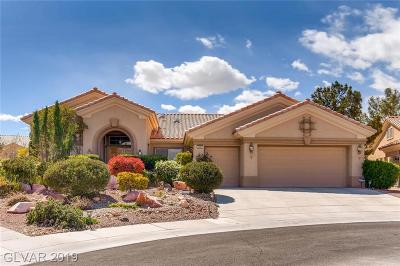 Las Vegas Single Family Home For Sale: 2241 Palm Valley Court