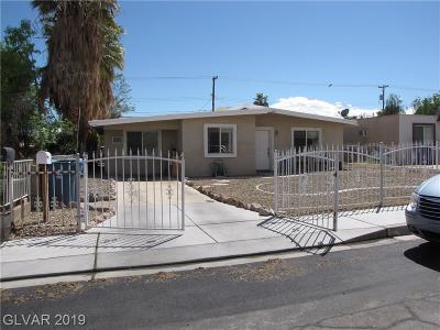 Las Vegas Single Family Home For Sale: 2214 Marlin Avenue