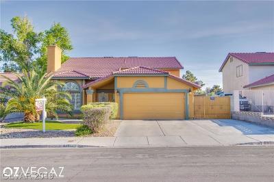 Las Vegas Single Family Home For Sale: 6481 Chisos Drive