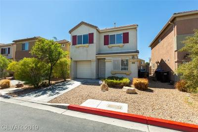 Las Vegas Single Family Home For Sale: 4163 Story Rock Street