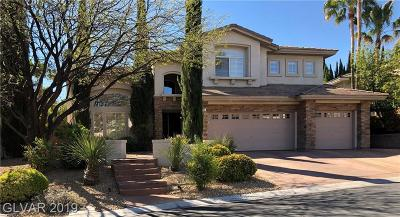 Las Vegas Single Family Home For Sale: 116 South Ring Dove Drive
