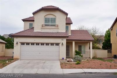 North Las Vegas Single Family Home For Sale: 4217 Masseria Avenue