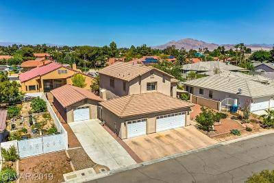 Las Vegas, Henderson Single Family Home For Sale: 3850 Lorraine Lane