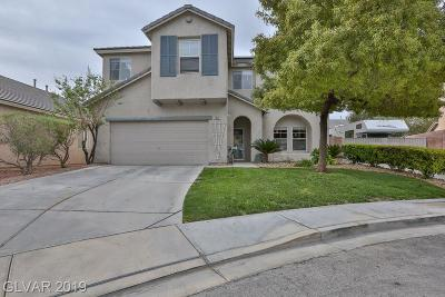 North Las Vegas Single Family Home For Sale: 2935 Steppingstone Court
