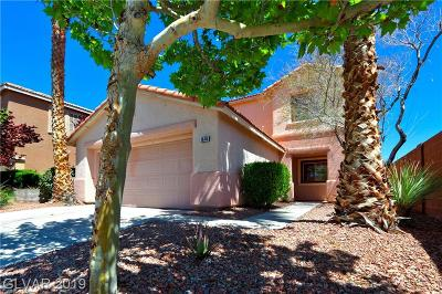 Las Vegas Single Family Home For Sale: 1616 April Shower Place