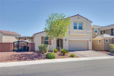 North Las Vegas Single Family Home For Sale: 7136 Weavers Place
