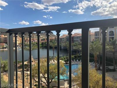 Viera Condo Amd, V At Lake Las Vegas, Mantova-Phase 1, Mantova-Phase 2, South Shore Villas Amd, Luna Di Lusso Condo 2nd Amd, Luna Di Lusso Condo 3rd Amd, Parcel 6n-4-A Vita Bella High Rise For Sale: 29 Montelago Boulevard #337