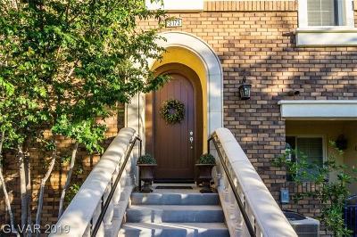Henderson Condo/Townhouse For Sale: 3173 Palazzo Reale Avenue