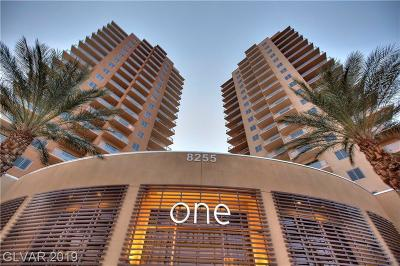 One Las Vegas, Loft 5, Palm Beach Resort, Manhattan Condo, Manhattan Condo Phase 2, Park Avenue Condo-Unit 1, Park Avenue Condo-Unit 2 Amd, Park Avenue Condo-Unit 3 Amd High Rise For Sale: 8255 Las Vegas Boulevard #1911