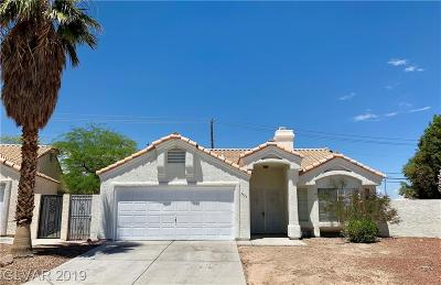 North Las Vegas Single Family Home For Sale: 3733 Hedge Grove Drive