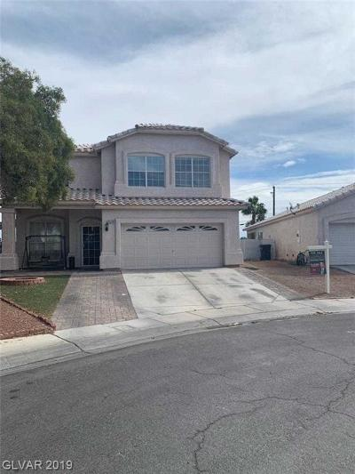 North Las Vegas Single Family Home For Sale: 1514 Woodward Heights Way