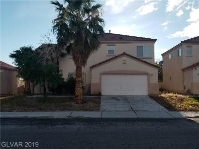 North Las Vegas Single Family Home For Sale: 6117 Kitamaya Street