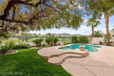 Las Vegas Single Family Home For Sale: 1809 Corta Bella Drive