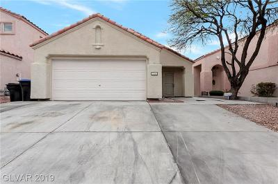 North Las Vegas Single Family Home Under Contract - Show: 2106 Big Boulder Drive
