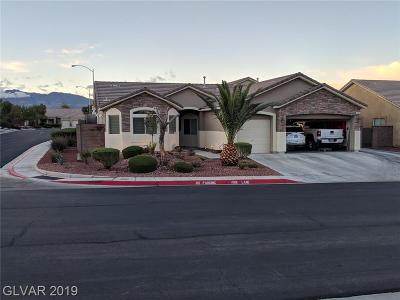 North Las Vegas Single Family Home Under Contract - No Show: 604 Fiesta Del Rey Avenue