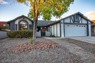 Henderson Single Family Home For Sale: 924 Anchor Drive