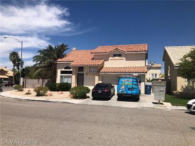 North Las Vegas Single Family Home For Sale: 1746 Gatepost Avenue