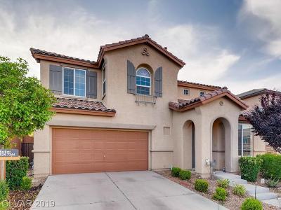 Single Family Home For Sale: 7831 Castle Rock Peak Street