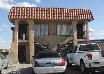 North Las Vegas Multi Family Home For Sale: 3701 Thomas Avenue