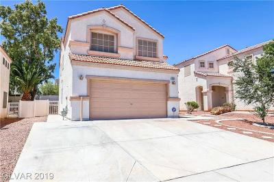 North Las Vegas Single Family Home For Sale: 6731 Maple Mesa Street