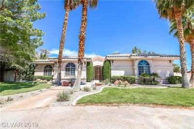 Las Vegas Single Family Home For Sale: 5886 Bonita Vista Street