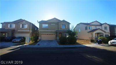 North Las Vegas Single Family Home For Sale: 6024 Gum Springs Street
