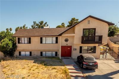 Las Vegas Single Family Home For Sale: 4137 Oxnard Circle