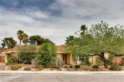 Las Vegas Single Family Home For Sale: 3840 Pacific Street
