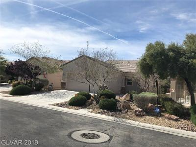 North Las Vegas Single Family Home For Sale: 2505 Great Auk Avenue