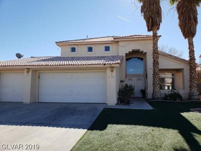 North Las Vegas Single Family Home For Sale: 4327 Critic Court