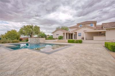 Las Vegas, Henderson Single Family Home For Sale: 6180 El Camino Road