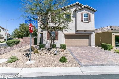 Las Vegas Single Family Home For Sale: 352 Casmailia Avenue
